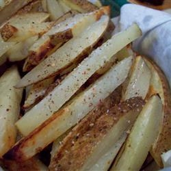 Homemade Skin Fries