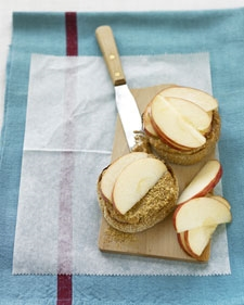 English Peanut Butter & Apples