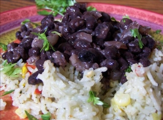 Black Beans and Onions