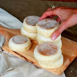 MyFridgeFood - Homemade English Muffins
