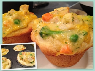 MyFridgeFood - Chicken Pot Pie Biscuits (1)