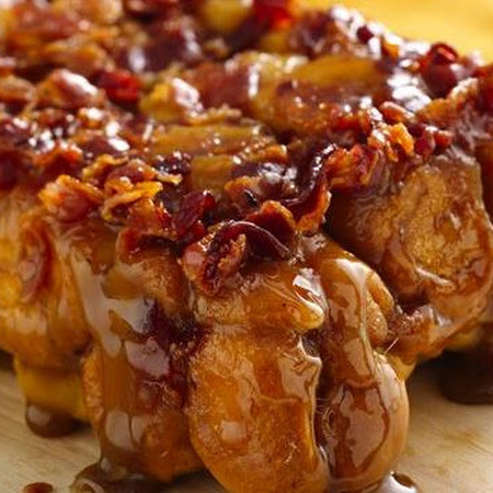 bread monkey bread has the power maple bacon bread this sticky bacon ...
