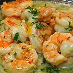 Butterless Shrimp Scampi