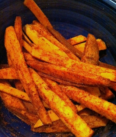 Baked Sweet Fries
