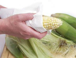 Remove Corn Silk