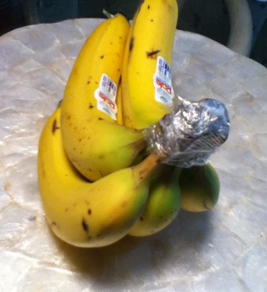 myfridgefood make bananas last longer. Black Bedroom Furniture Sets. Home Design Ideas