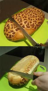 "Cut bread on the ""soft side"""