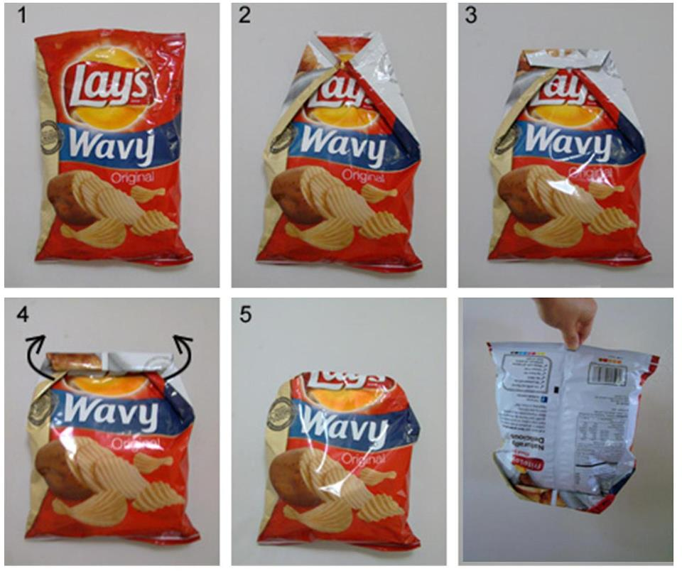 Seal Chip bags without a Chip Clip