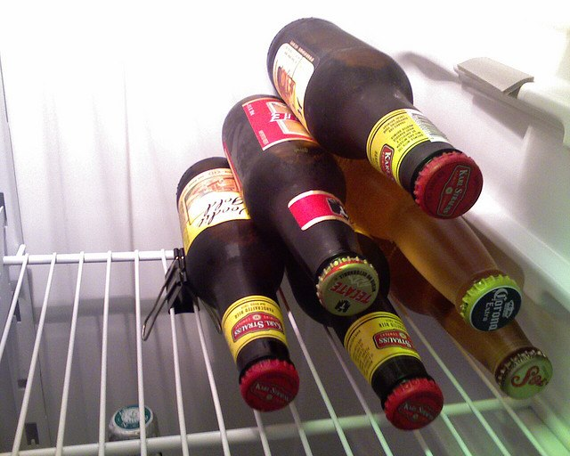 Stack Beers using a Binder Clip