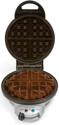 Brownies in the Waffle Iron