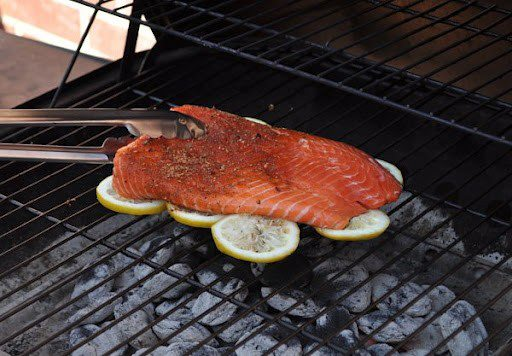 Grill Fish on a Bed of Lemons