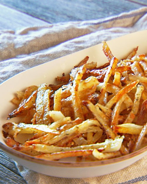 Crispier Fries