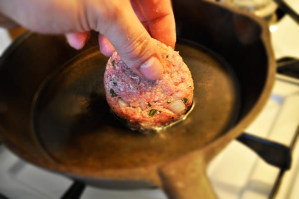 "Make a ""test meatball"" before cooking off all of it"