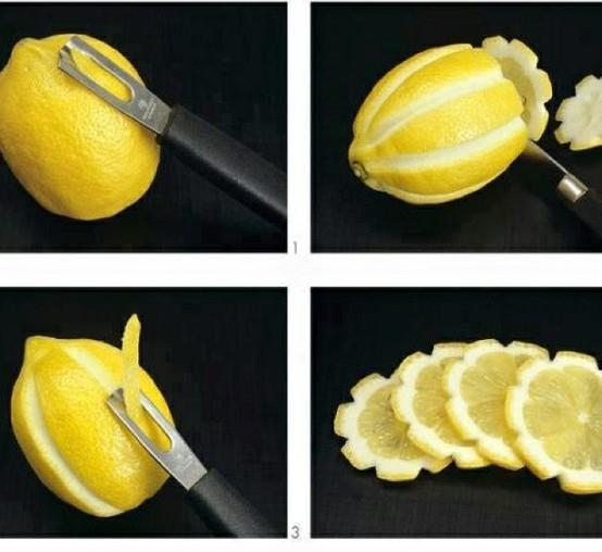 Make Lemon Wheels