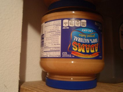 Store Natural Peanut Butter Upside Down