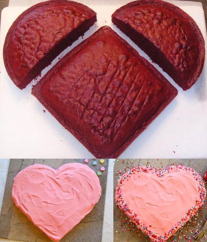 Way to make a Heart Shaped Cake
