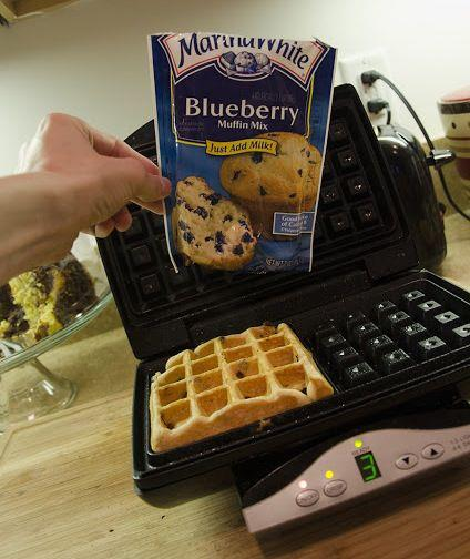 Make Muffins in a Waffle Maker