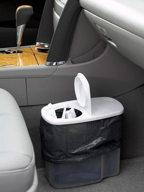 Cereal Container - Good Trash can for the car