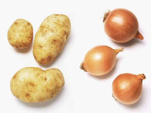 Don't Store Onions and Potatoes Together