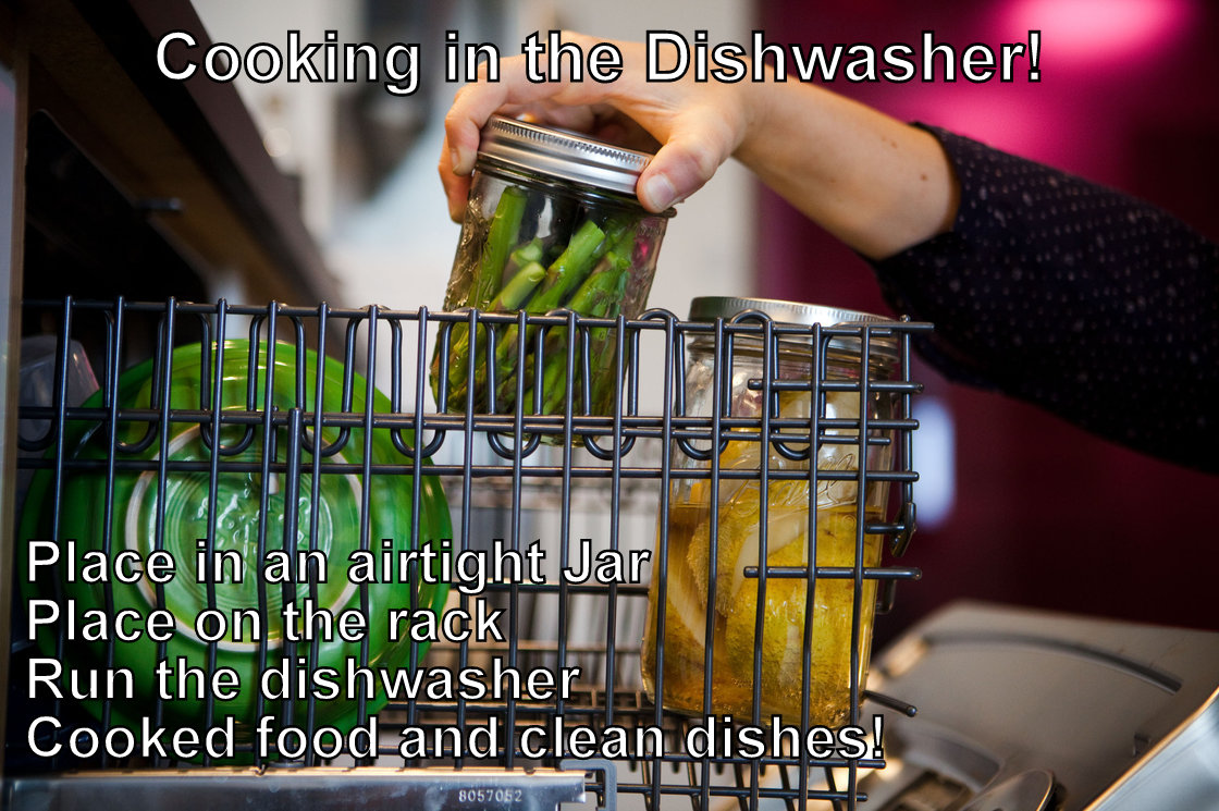 Dishwasher Cooking!