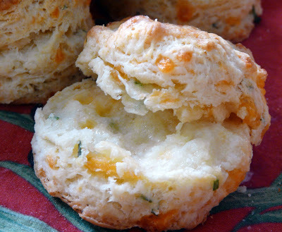 Chive and Cheddar Biscuits
