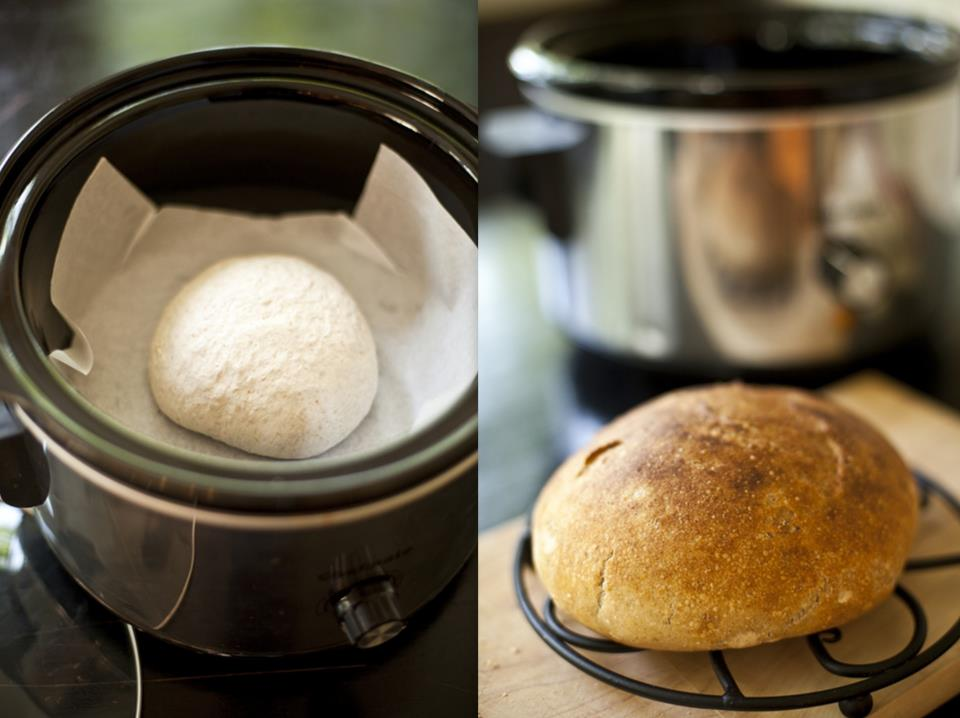 Bread in a Crock Pot