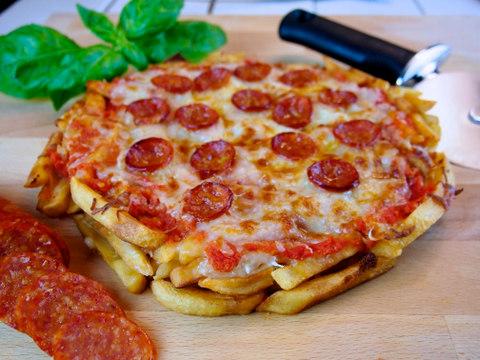 Myfridgefood French Fry Pizza Gluten Free