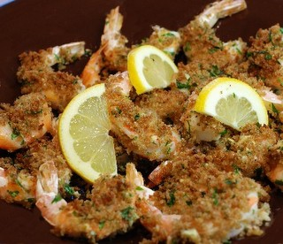 Crispy Garlic Lemon Shrimp