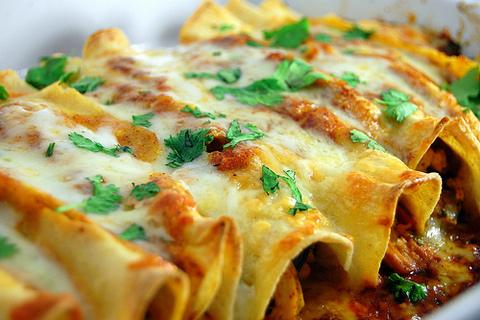 Myfridgefood Best Chicken Enchiladas