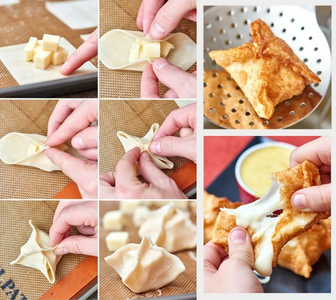 Fried Cheese Wontons
