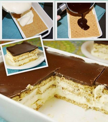 Ingredients For Chocolate Eclair Cake