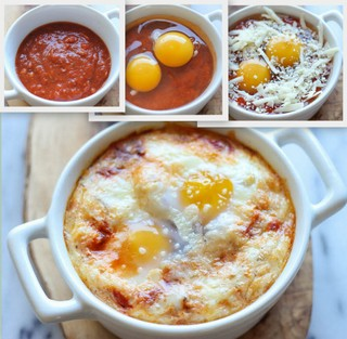 Italian Eggs in a Cup
