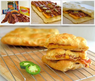 Cheesy Bacon Jalapeno Rolls