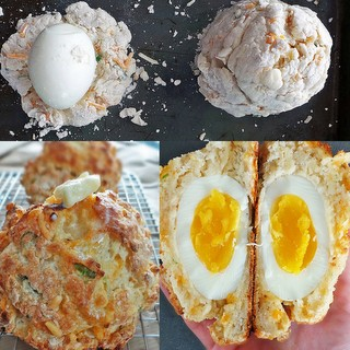 Eggs IN a Biscuit