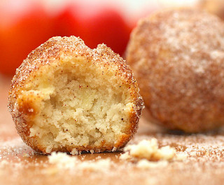 Apple Donut Holes