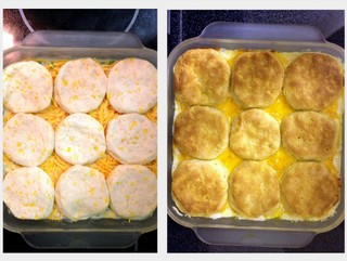 Another Chicken and Biscuit Casserole