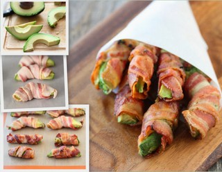 Bacon Avocado Fries