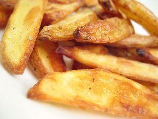 Oven Baked Fried Fries