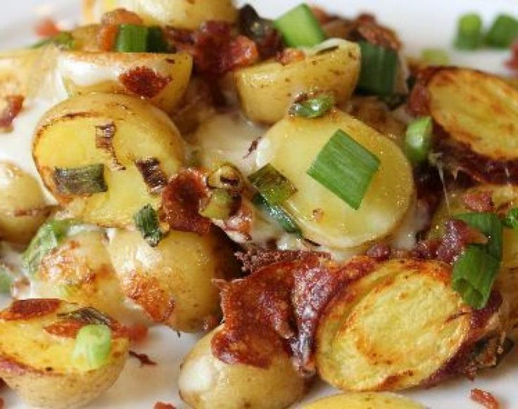 MyFridgeFood - Triple Cheese Potatoes