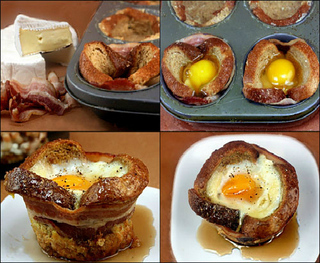French Toast Wrapped Eggs