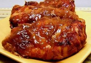 Crock Pot Bacon Apple Chicken