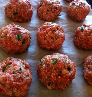 Crazy Good Baked Meatballs