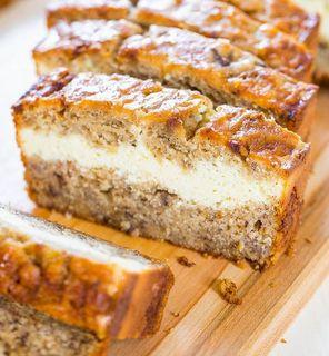 Myfridgefood Cream Cheese Banana Bread