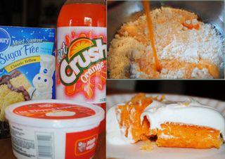 MyFridgeFood - Orange Sherbet Cake