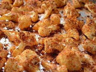 Paprika Roasted Cauliflower