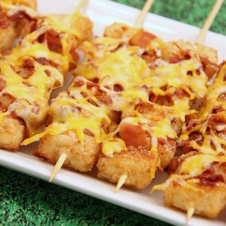 Bacon Cheddar Tater Tot Sticks
