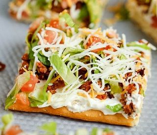 Another Taco Pizza